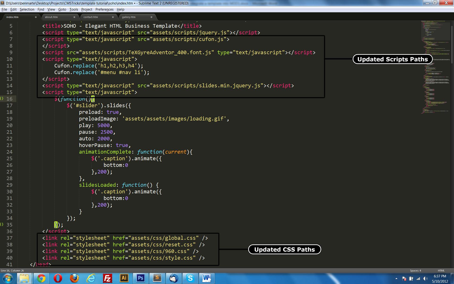 Integrating a Template into MODX part 1 | CMSTricks